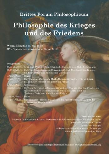 Drittes Forum Philosophicum